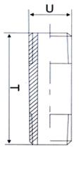 Ниппель бочонок НР-НР - схема