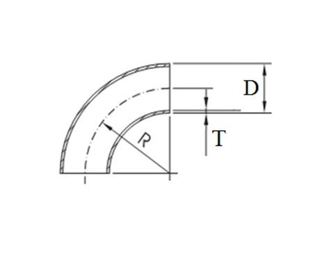 чертеж отвода электросварного